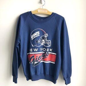 New York Giants Vintage Crew Neck Sweatshirt